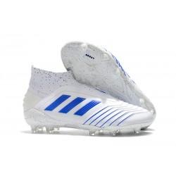 Botas de fútbol adidas PREDATOR Virtuso 19+ FG - Blanco Azul