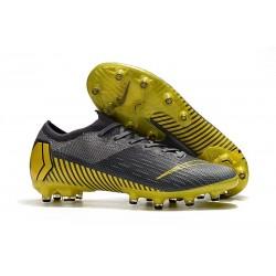 Nike Mercurial Vapor 360 Elite AG-PRO Botas de Fútbol Gris Amarillo