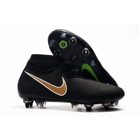 Nike Phantom VSN Elite DF SG-Pro Anti Clog Botas Negro Or