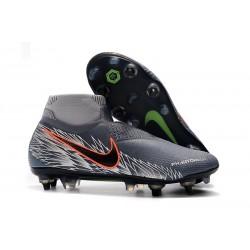 Nike Phantom VSN Elite DF SG-Pro Anti Clog Botas Gris Argent