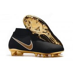 Zapatos de Fútbol Nike Phantom VSN Elite DF FG - Negro Oro