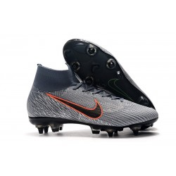 Zapatillas Nike Mercurial Superfly 6 Elite SG-Pro Gris Negro