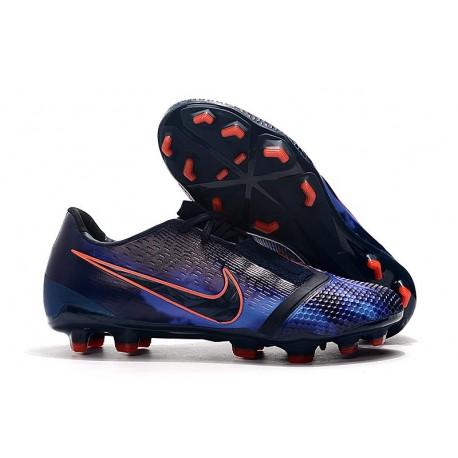 Zapatillas de Fútbol Nike Phantom Venom Elite FG Azul Negro