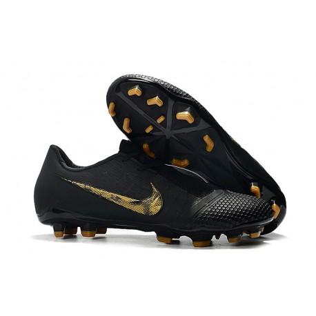 Zapatillas de Fútbol Nike Phantom Venom Elite FG Negro Oro