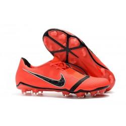 Zapatillas de Fútbol Nike Phantom Venom Elite FG Crimson Negro