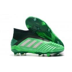 Botas de fútbol adidas PREDATOR 19+ FG - Verde Negro Negro