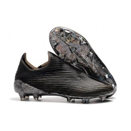 adidas X 19 + FG Zapatos de Fútbol Negro
