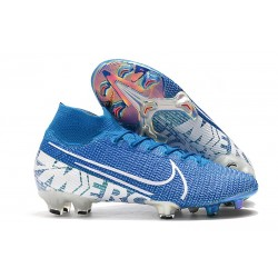 Botas Nike Mercurial Superfly 7 Elite FG New Light Azul