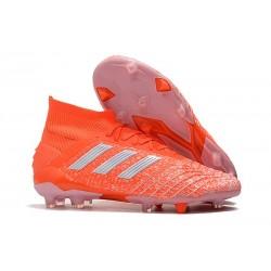 Botas y Zapatillas de Fútbol adidas Predator 19.1 FG - Naranja Blanco
