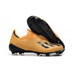 adidas X 19 + FG Zapatos de Fútbol Naranja Negro