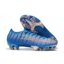Botas de fútbol Nike Mercurial Vapor 13 Elite FG Azul Rojo