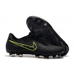 Zapatillas Nike Phantom Venom Elite FG Negro Amarillo Fluorescente