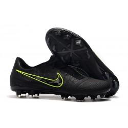 Zapatillas Nike Phantom Venom Elite FG Negro Amarillo Fluorescente