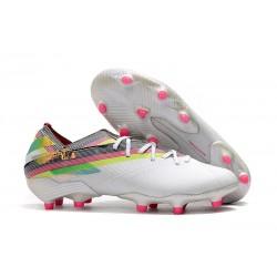 Zapatos de fútbol adidas Nemeziz Messi 19.1 FG Blanco Vistoso
