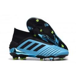 Botas de fútbol adidas PREDATOR 19+ FG - Azul Negro