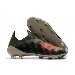 adidas X 19 + FG Zapatos de Fútbol Verde Naranja Chalk