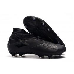 Bota de Fútbol adidas Nemeziz 19+ FG Hombres Negro
