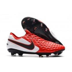 Zapatillas de Fútbol Nike Tiempo Legend 8 FG - Rojo Blanco Negro