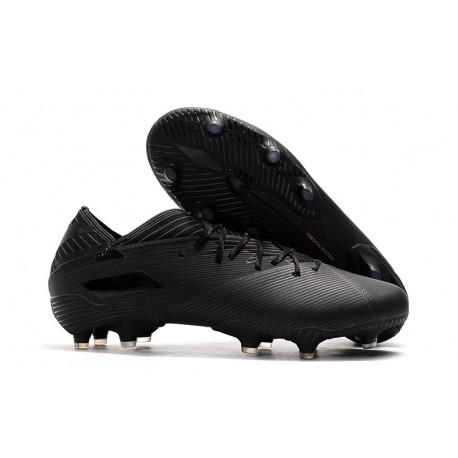 Zapatos de fútbol adidas Nemeziz Messi 19.1 FG Negro