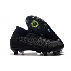 Nike Mercurial-Superfly VII Elite-SG PRO Anti Clog Negro