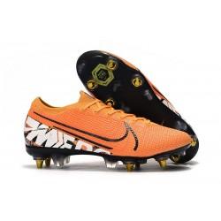 Nike Mercurial Vapor 13 Elite ACC SG-Pro Naranja Blanco Negroa