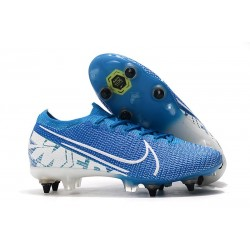Nike Mercurial Vapor 13 Elite ACC SG-Pro New Lights Azul Blanco