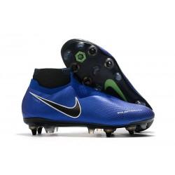 Nike Phantom VSN Elite DF SG-Pro Anti Clog Botas Azul Cromo Blanco