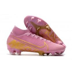 Nike Zapatillas de Fútbol Mercurial Superfly VII Elite FG Rosa Oro