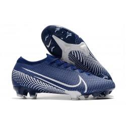 Botas Nike Mercurial Vapor 13 Elite FG ACC Azul Blanco