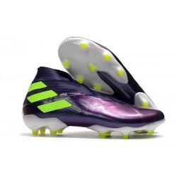 adidas Zapatos de Fútbol Nemeziz 19+ FG - Violet Verde