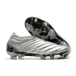 Zapatillas de Futbol adidas Copa 20+ FG Silver Amarillo