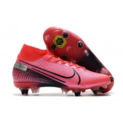 Nike Mercurial-Superfly VII Elite-SG PRO Anti Clog Láser Crimson Negro