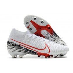 Nike Mercurial Superfly VII Elite AG-Pro Blanco Rojo