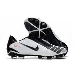 Botas de Futbol Nike Phantom Vnm Elite FG Blanco Negro Rojo