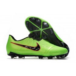 Botas de Futbol Nike Phantom Vnm Elite FG Verde Strike Negro