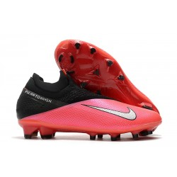 Zapatillas Nike Phantom VSN II Elite DF FG -Laser Crimson Plata Negro
