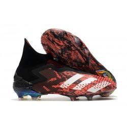 Zapatillas adidas Predator Mutator 20+ FG Negro Blanco Rojo