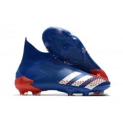 Zapatillas adidas Predator Mutator 20+ FG Azul Blanco Rojo