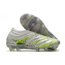 Zapatillas de Futbol adidas Copa 20+ FG Blanco Negro Verde
