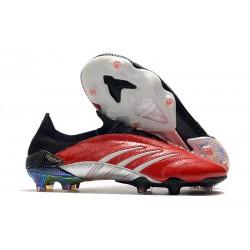Zapatillas adidas Predator Archive FG - Rojo Negro Plata