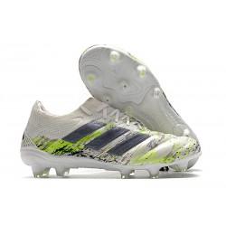 Adidas COPA 20.1 FG Blanco Negro Verde
