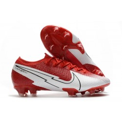 Botas Nike Mercurial Vapor 13 Elite FG Crimson White