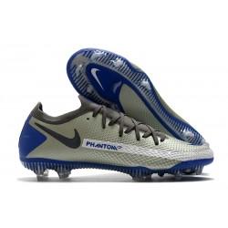 Botas de Fútbol Nike Phantom GT Elite FG Gris Azul Negro